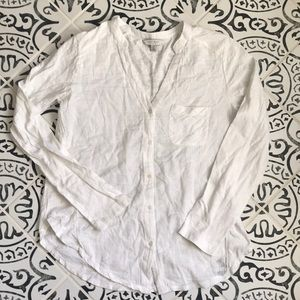 Lucky brand button up blouse